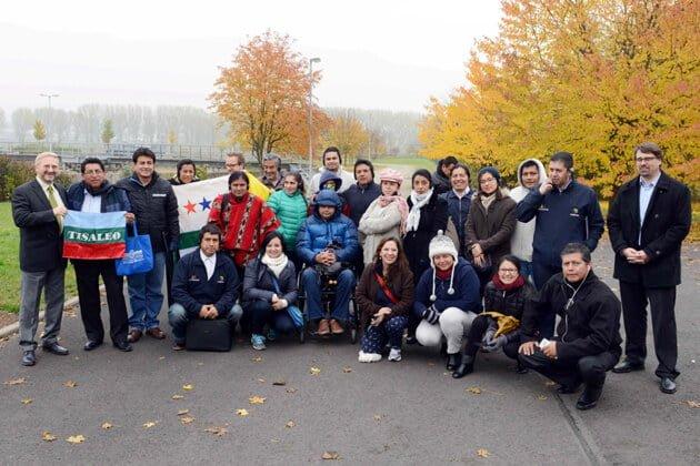 Ecuadorianer besuchten Zweckverbände