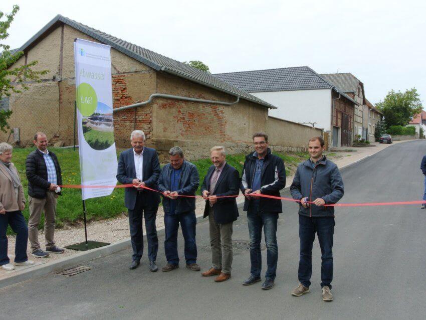Abwasserpumpwerk Illeben in Betrieb genommen