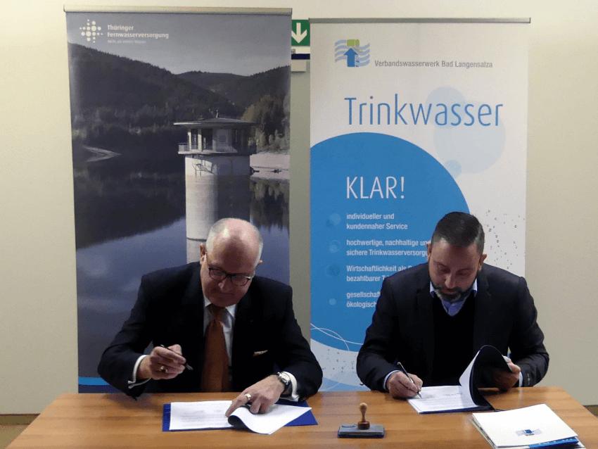 Fernwasserliefervertrag unterzeichnet